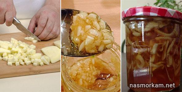 Лук с медом от детского кашля - рецепты приготовления