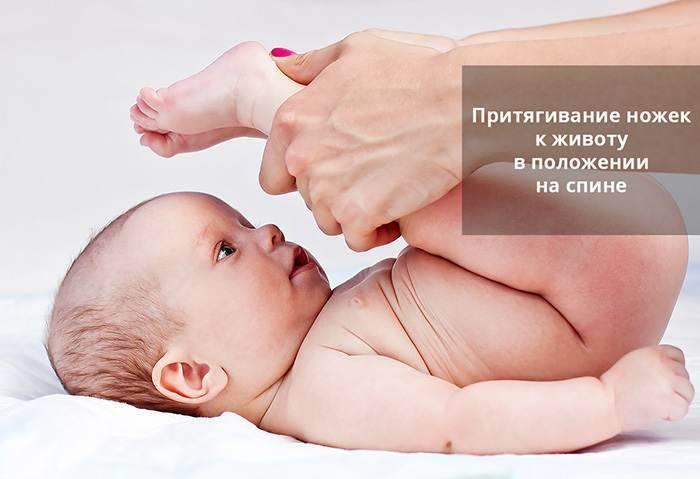 Болит животик у новорожденного