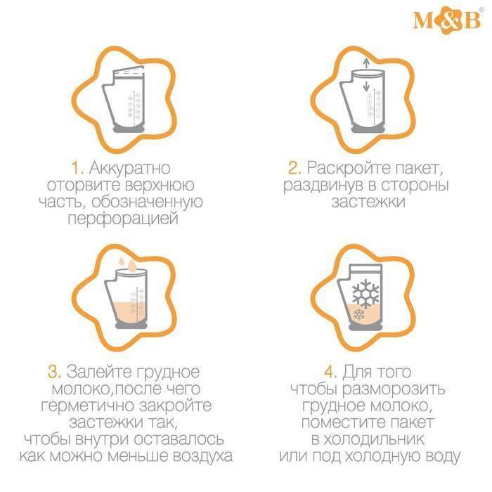 Основные правила заморозки и хранения замороженного грудного молока. выбор правильной и удобной тары.