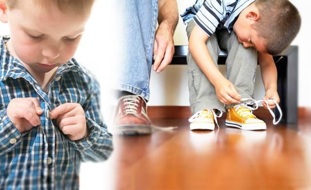 Простые способы как научить ребенка завязывать шнурки