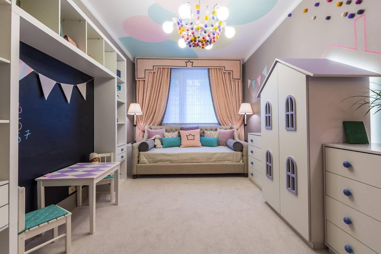 Идеи для детской комнаты: красивые и оригинальные варианты оформления интерьера