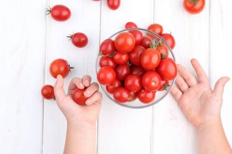С кого возраста можно давать ребенку огурцы и помидоры
