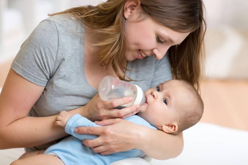 Как отучить ребенка от бутылочки и ночных кормлений