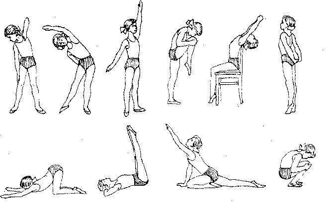 10 важных упражнений для исправления сколиоза