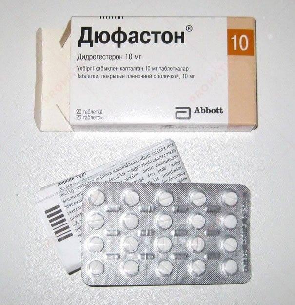 Норколут или дюфастон при кисте яичника