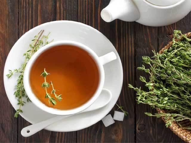 Чай с чабрецом при грудном вскармливании - мамины новости