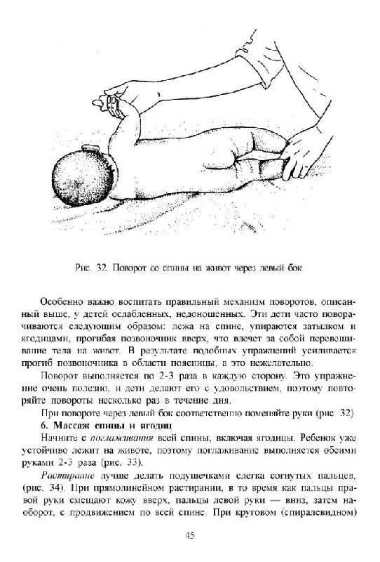 Массаж и гимнастика для грудничка