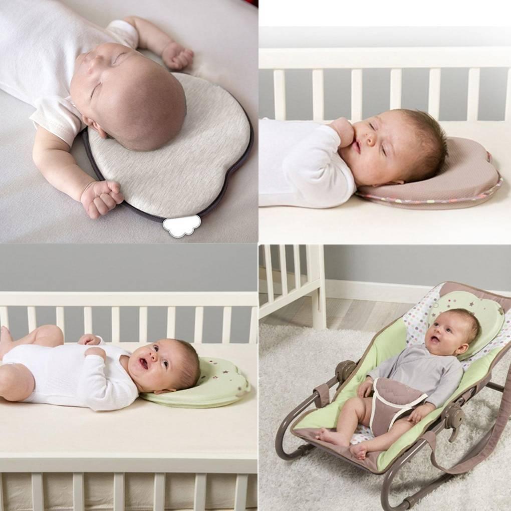 Позиционер для сна новорожденного: подушка своими руками