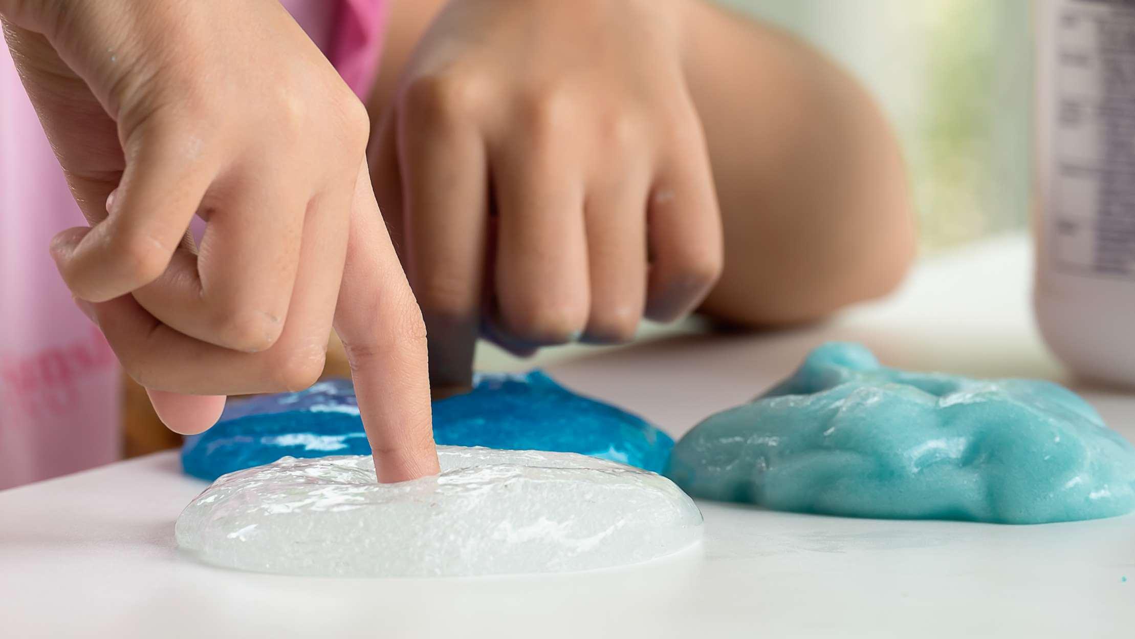 Рецепты жвачки для рук с тетраборатом натрия или без него. как сделать лизуна больше?