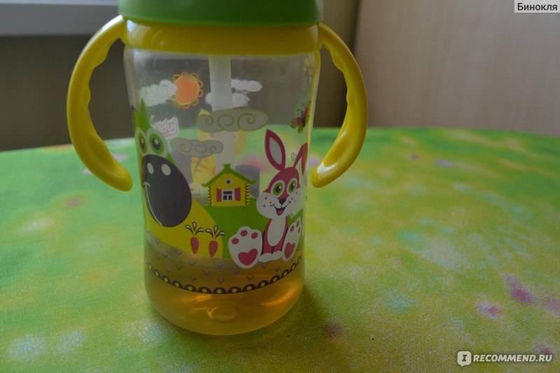 Как научить своего ребенка пить из трубочки?
