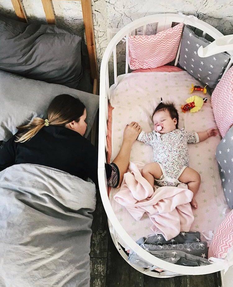 Как приучить ребёнка спать в своей кроватке и спальни?