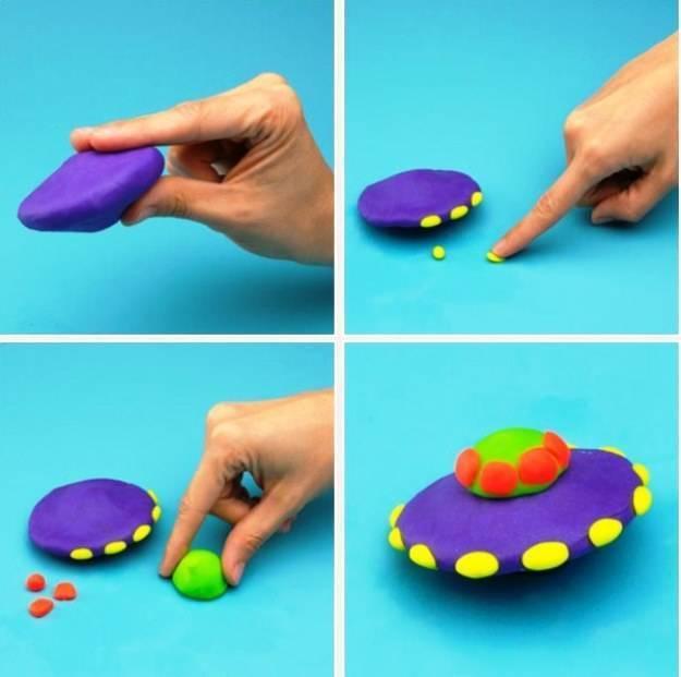 Как научить ребенка лепить из пластилина в 2 года | уроки для мам