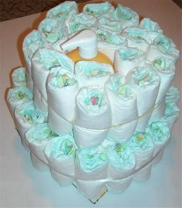 Мастер-классы: как из памперсов сделать торт своими руками с пошаговыми инструкциями и фото