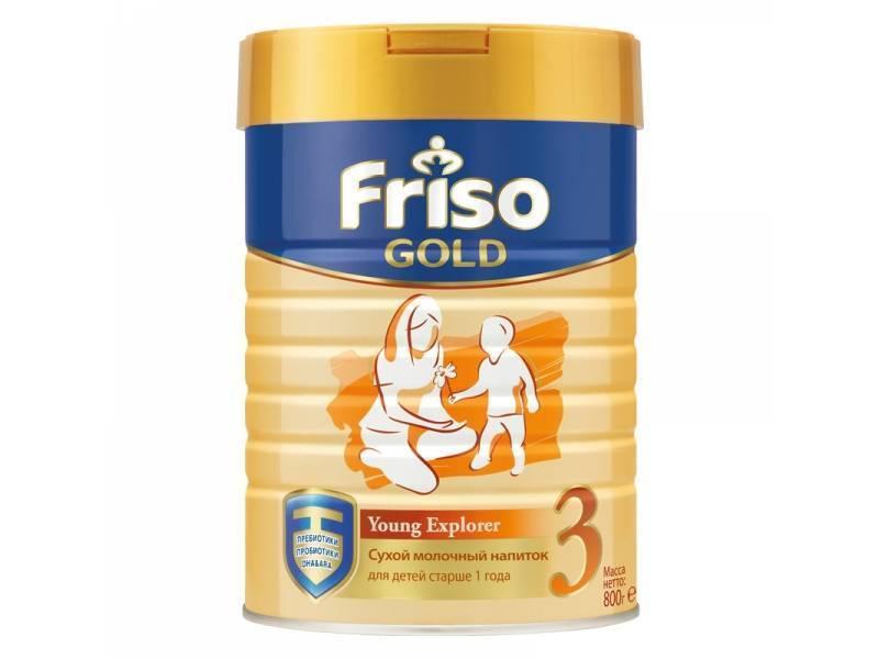 Смеси фрисо (friso) и фрисолак: состав и виды (голд, пеп) детского питания