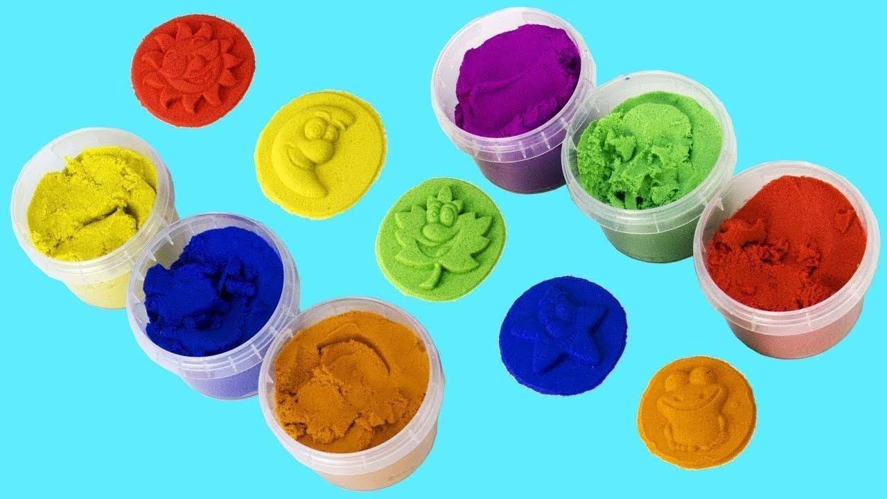 Космический песок: пластичный песок для детей, как сделать своими руками