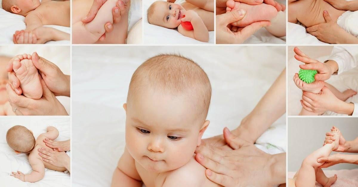 Массаж при гипертонусе у грудничка в домашних условиях