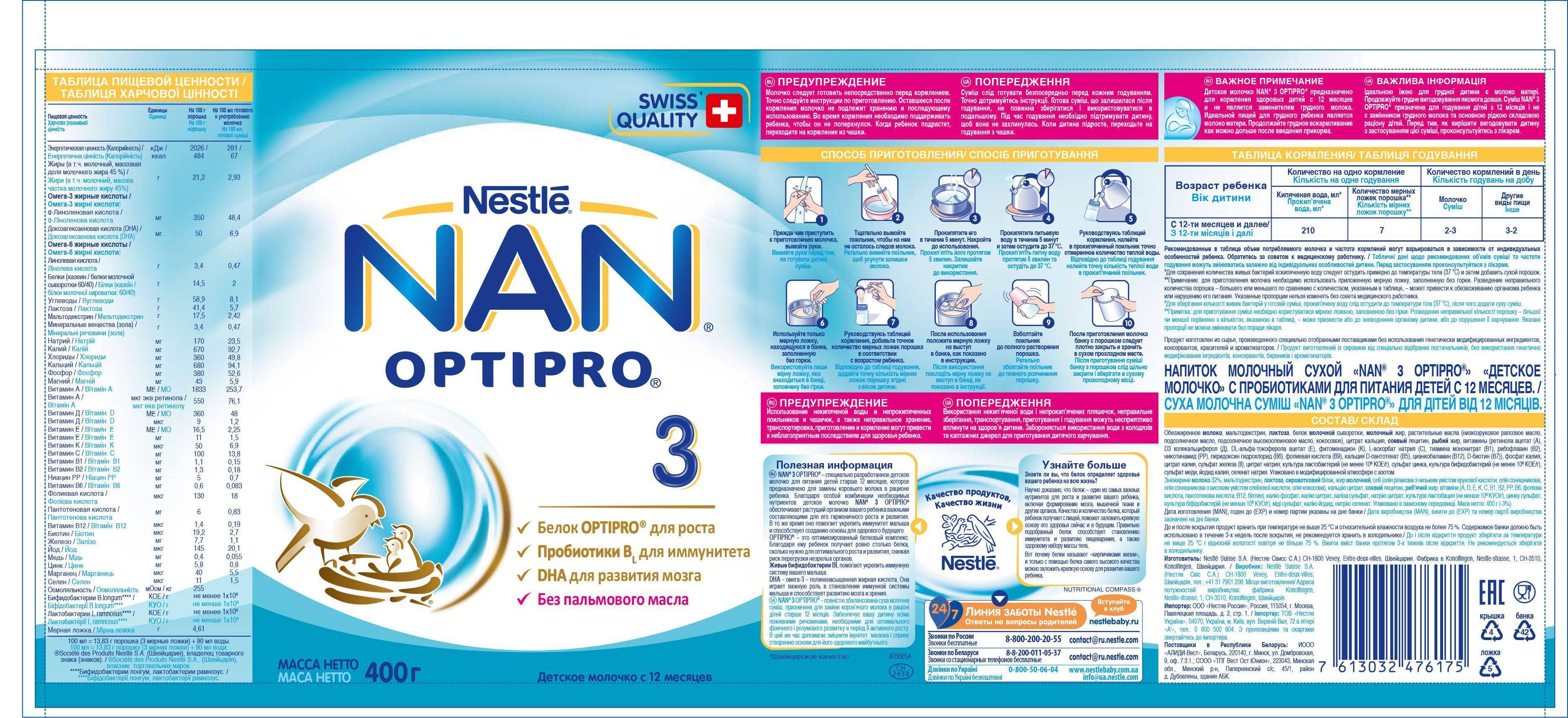 Nan® 4optipro®