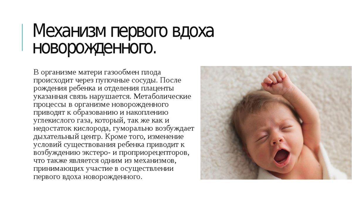 Новорожденный часто дышит — как должен дышать грудничок во сне