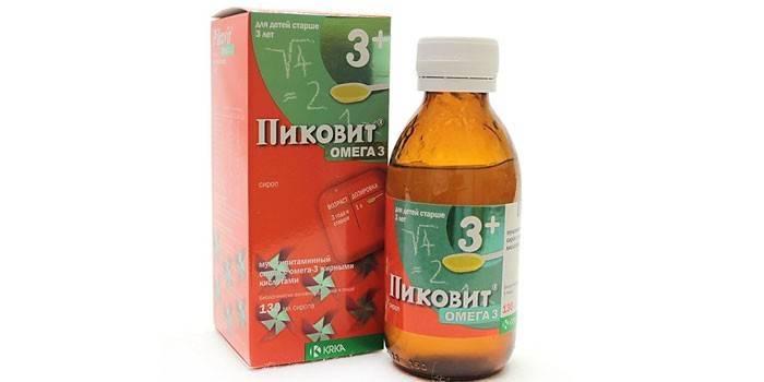 Супрадин кидс с омега-3: инструкция и цены в аптеках