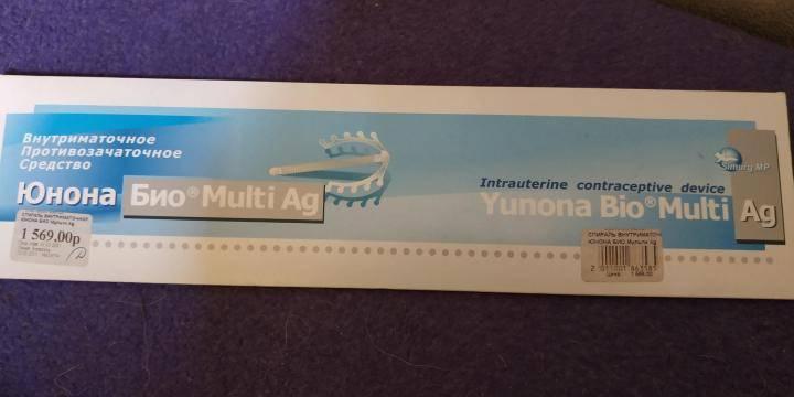 Спираль юнона био-т с серебром внутриматочная: инструкция, отзывы