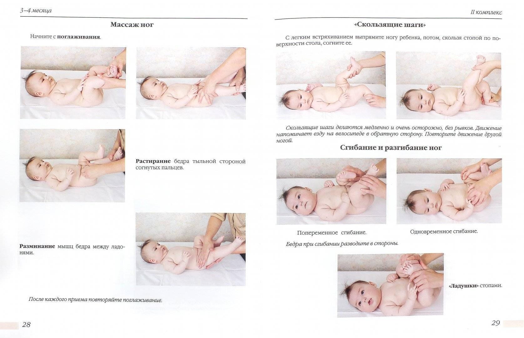 Гимнастика для младенцев: основы классической и динамической систем