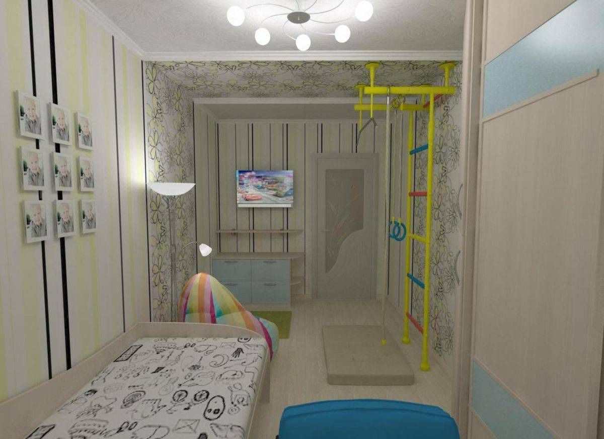 Дизайн детской комнаты 12 кв. м для двоих детей: 50+ свежих идей