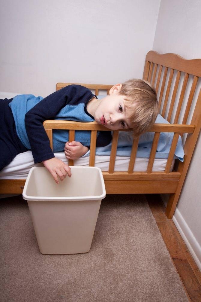 Рвота желчью у ребенка с температурой и без нее