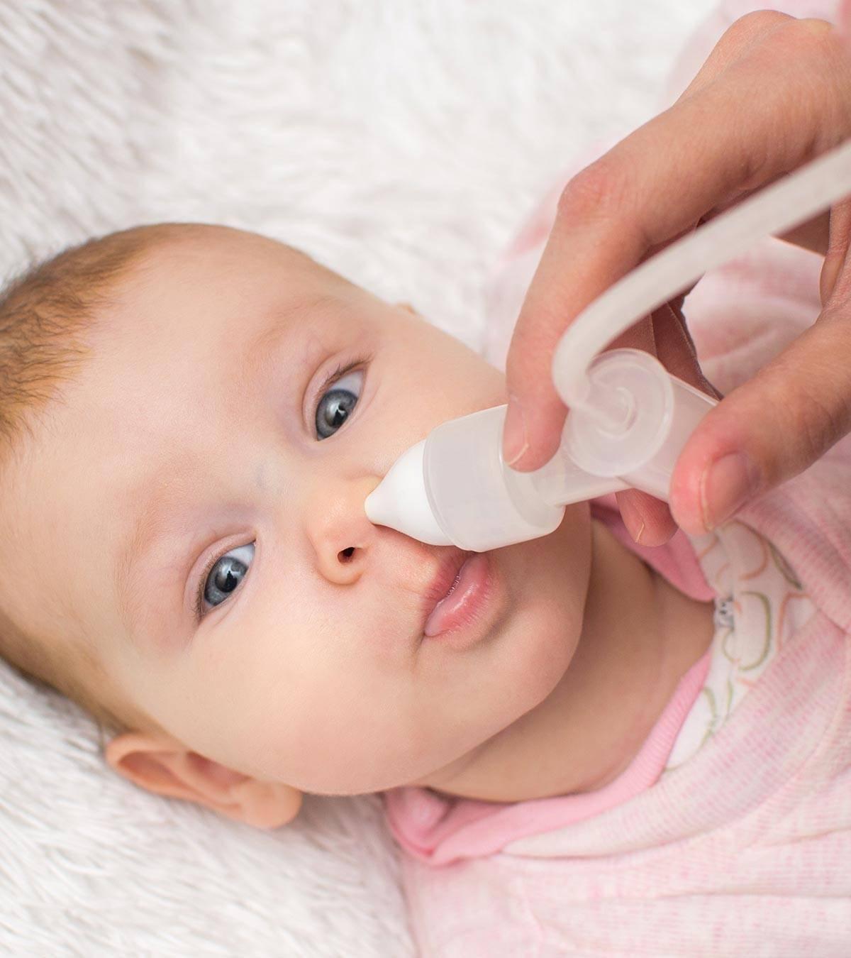 Физраствор для промывания носа новорожденному и детям до года - лечение, профилактика