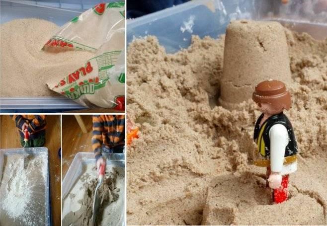 Чем космический песок отличается от кинетического | в чем разница