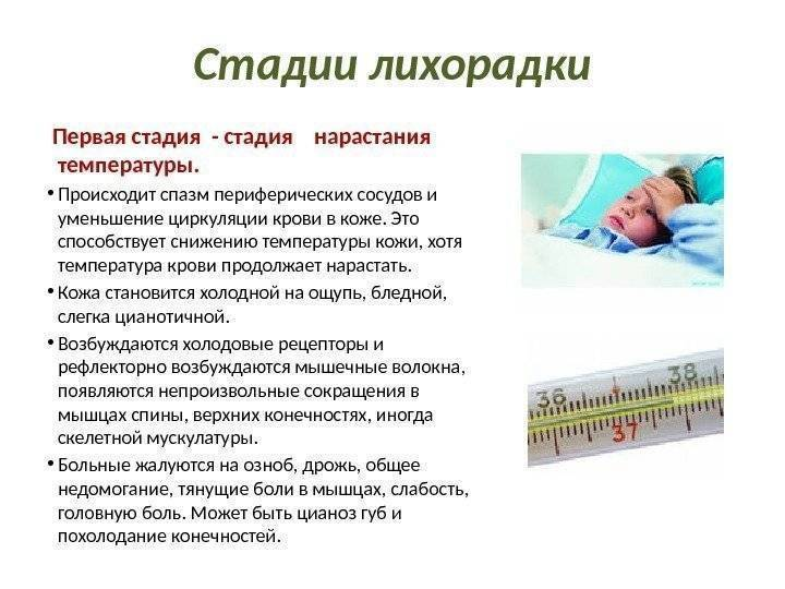 Судороги при температуре