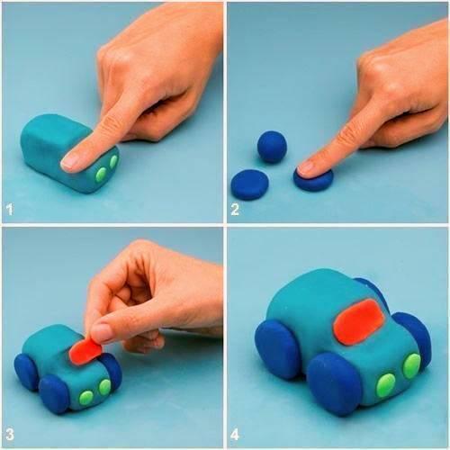 Лепим поделки из пластилина с детьми от 1 до 2-3 лет