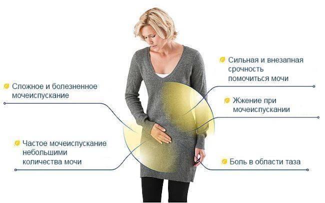 Жжение при мочеиспускании у женщин при беременности