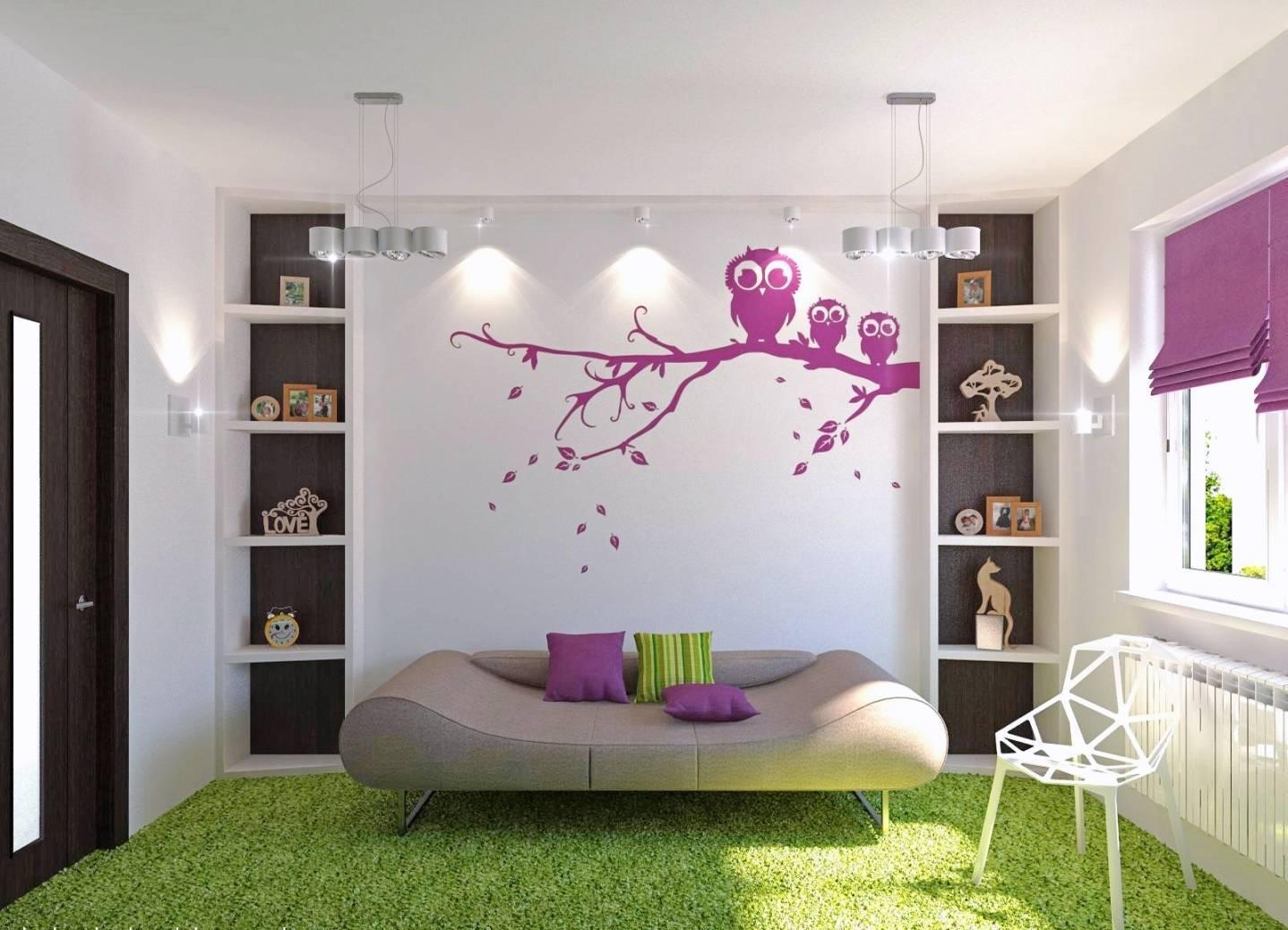 Обои в комнату для подростка: дизайн красивых примеров, фотографии интерьера