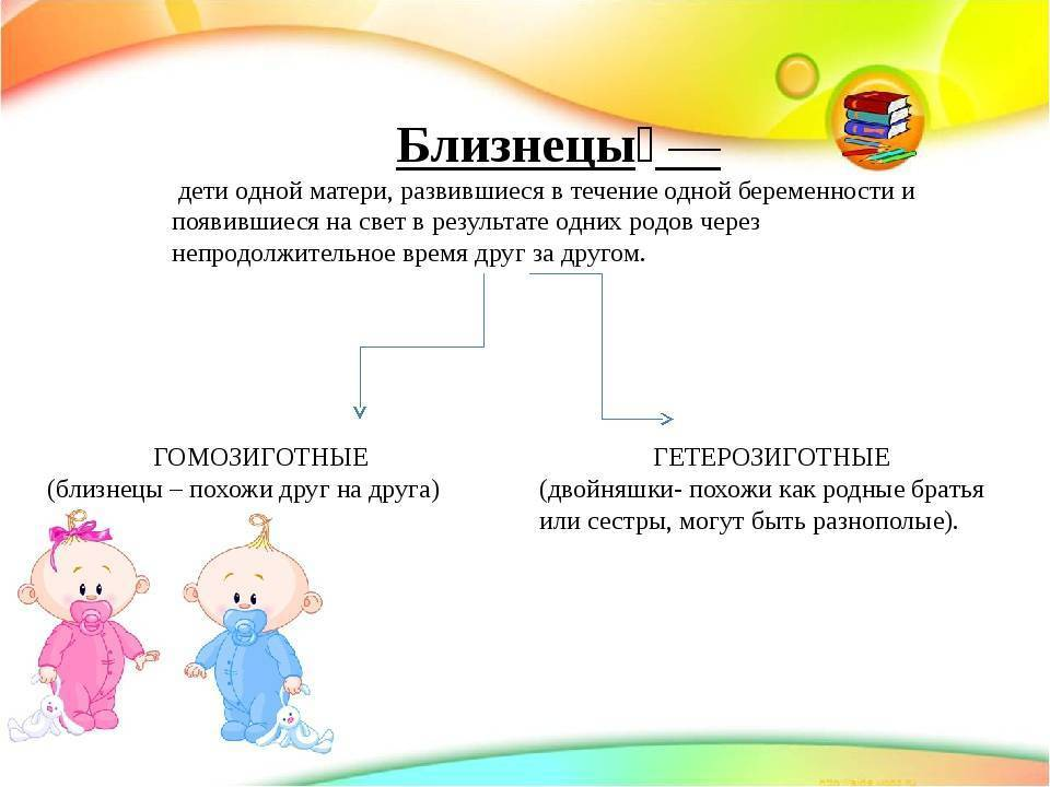 Советы родителям по воспитанию двойняшек