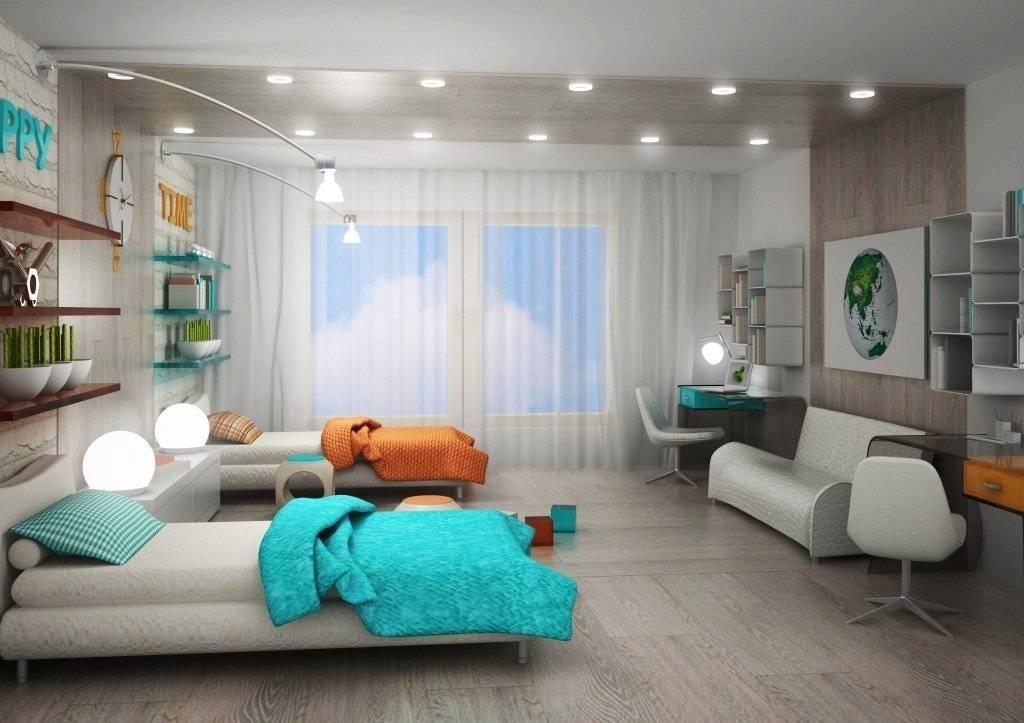 Детская комната для троих детей: нюансы в оформлении интерьера, фото примеров