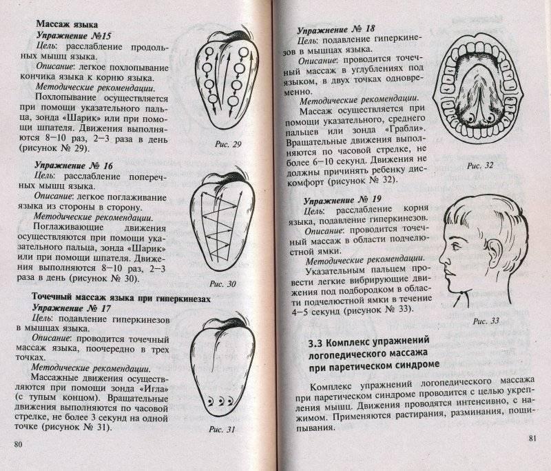 Как делать логопедический массаж в домашних условиях