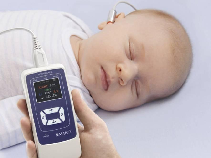 Проверка слуха у новорожденного или аудиологический скрининг - уход за новорожденным
