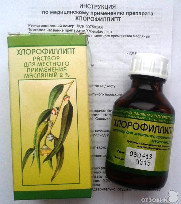 Хлорофиллипт детям для горла: инструкция по применению для полоскания, как обрабатывать горло масляным раствором