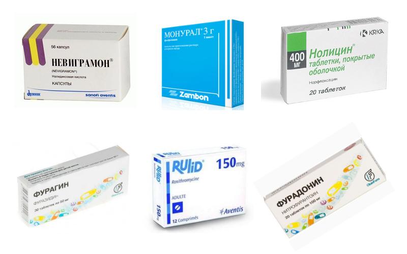 Антибактериальные препараты при цистите у детей
