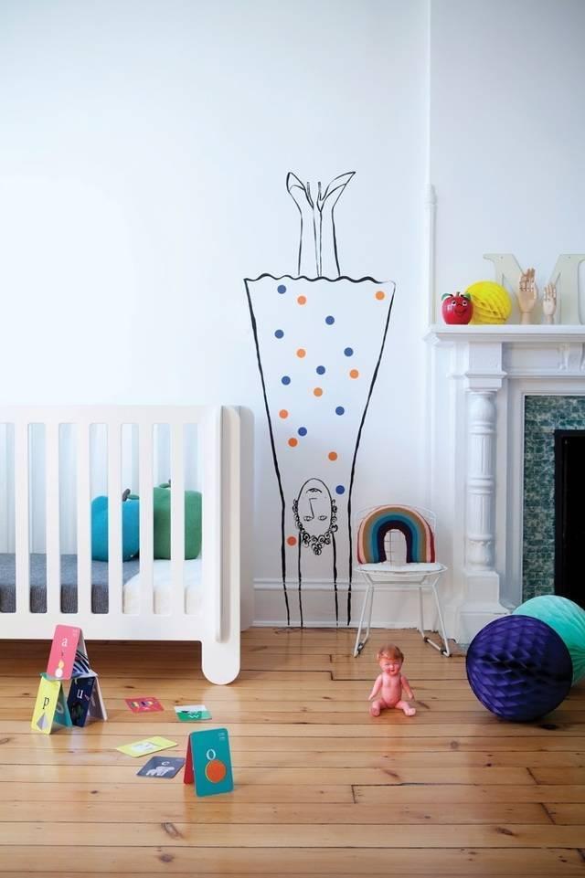 Скандинавский стиль - лучшее решение для оформления детской комнаты, фотографии+видео
