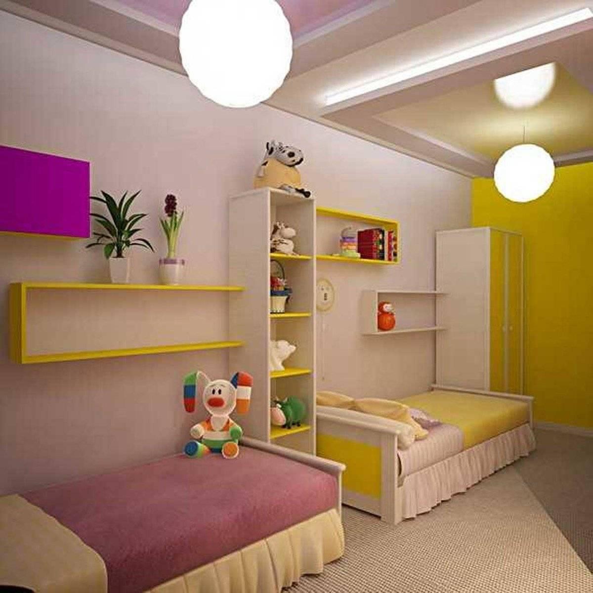 Детская для двоих разнополых детей: интересные идеи дизайна интерьера, фото