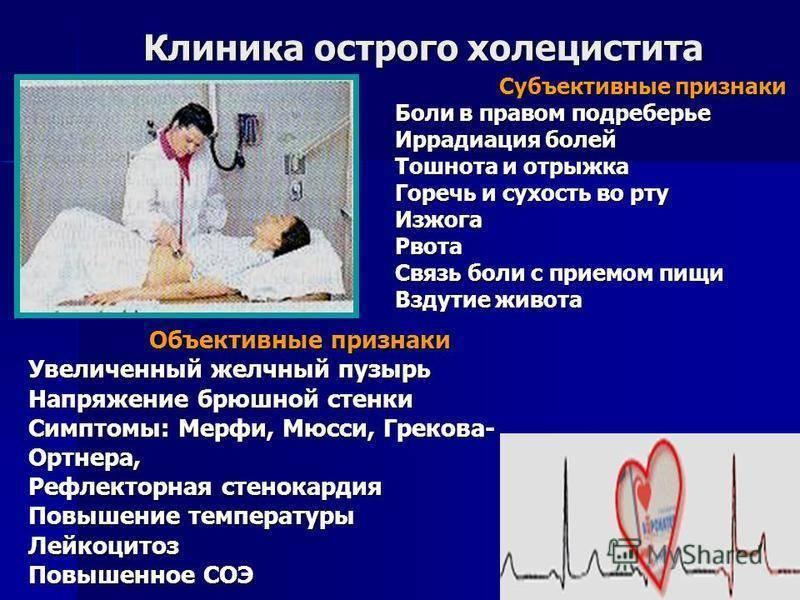 Симптомы и лечение хронического холецистита