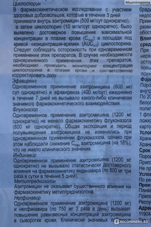 "Инструкция по применению суспензии ""Азитрокс"" для детей и аналоги антибиотика"