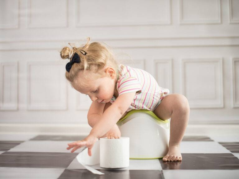 Как приучить ребенка к горшку за 7 дней по системе «довольный малыш»