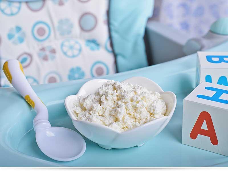 Фото аллергии у грудничка и ребенка на кисломолочные продукты: кефир, творог