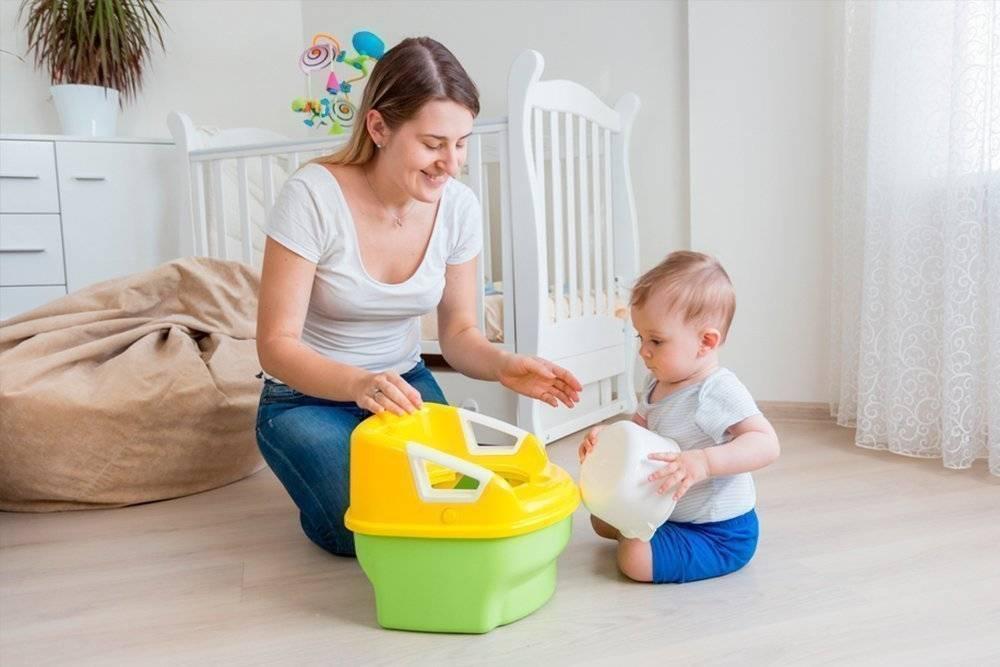 Как приучить ребенка к горшку. 10 советов от доктора комаровского ~ я happy мама