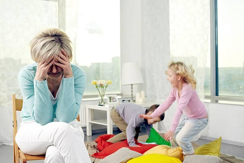 Как справиться с детьми погодками