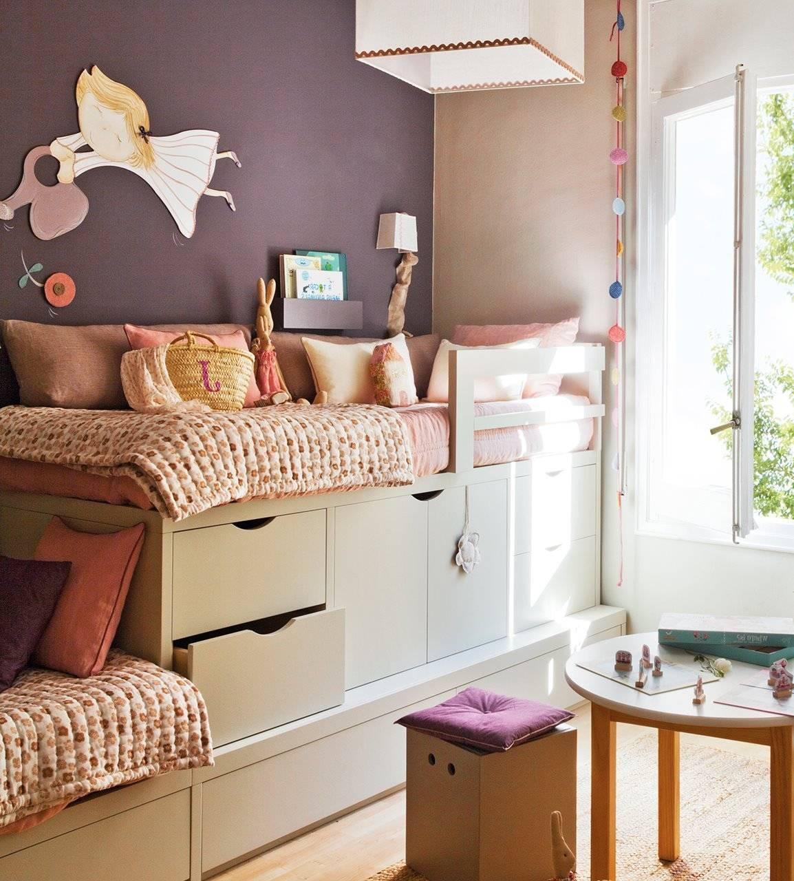 Детская комната для двух девочек: тонкости дизайна и лучшие идеи