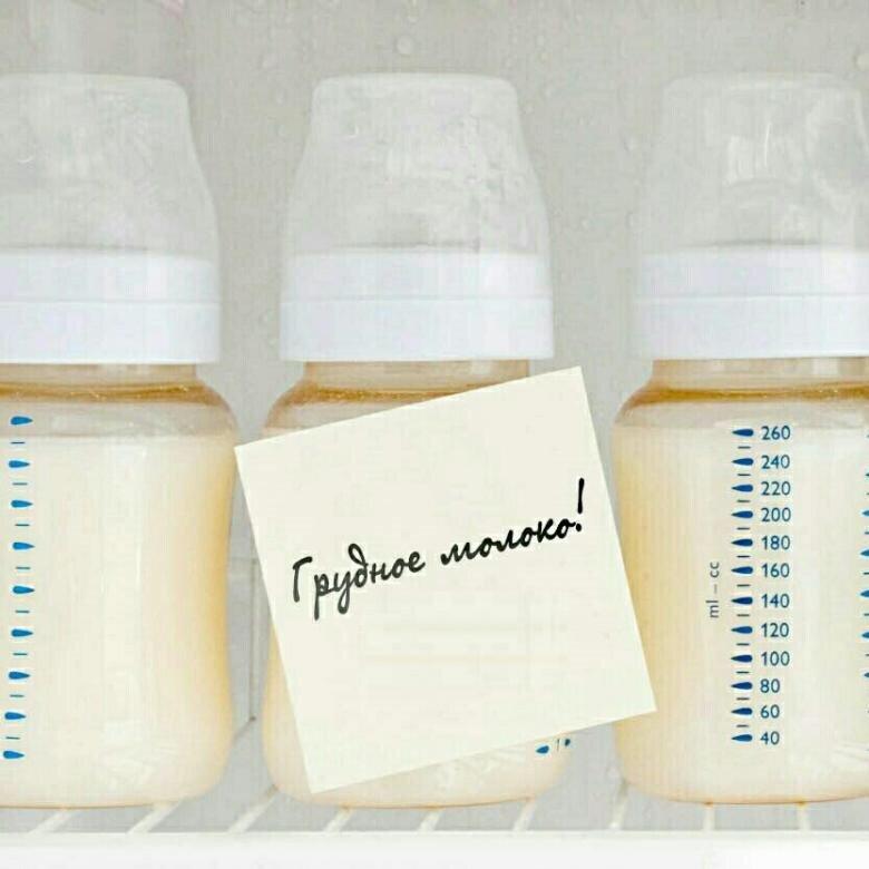 Сколько хранится грудное молоко
