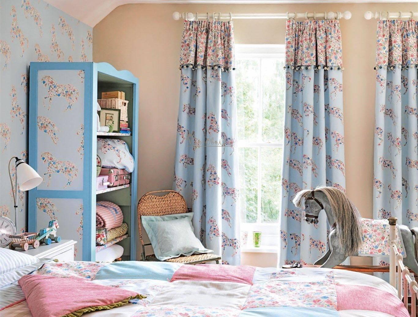 Дизайн штор для детской комнаты: какие шторы удобны и практичны?